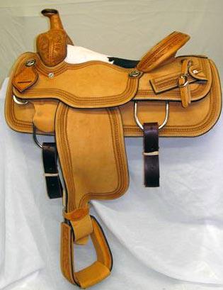 Lazy L Saddles by Larry Coats